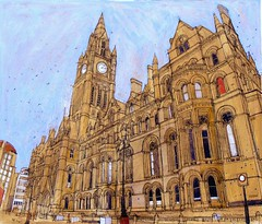 The Town Hall, Manchester photo by larosecarmine
