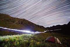 American Basin Star Trails photo by David Kingham