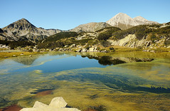 Banderishko lake, Pirin national park, Bulgaria photo by Slavin@ (back)