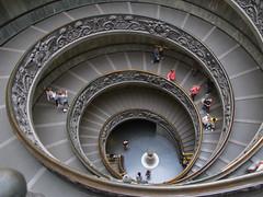 Spiralling down. photo by Christine Dolan