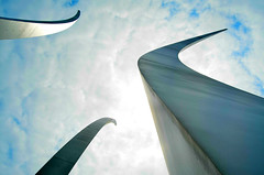 View from Underneath the Air Force Memorial photo by WilliamMarlow