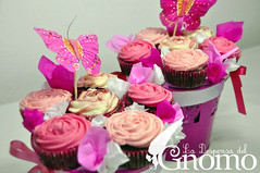 Cupcake Bouquet photo by La Despensa del Gnomo