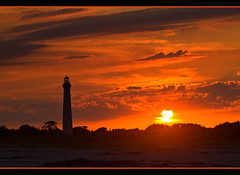 Lighthouse Sunset - Cape May, NJ photo by MurrayH77