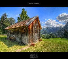 Mountain Shed (HDR) - Source Photos Available!!! photo by farbspiel