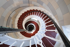Spiral staircase, The Isle of May Lighthouse, Fife photo by iancowe