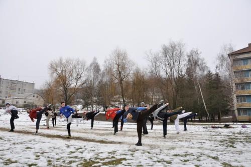 Antrenamente TKD iarna