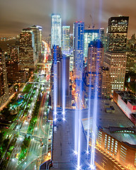 A Preview of the 2011 Tribute in Light (9/11 Memorial) photo by RBudhu