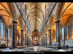 Salisbury Cathedral Nave photo by Edwinjones