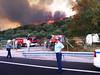 Φωτιά στην Μάκρη Αλεξανδρούπολης