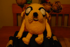 Jake the dog, Adventure Time photo by Amigurumi Lornibaby