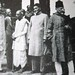 Mr Jinnah keeps his distance from Rajendra Prasad, C Rajgopalachari and Maulana Azad in Simla, 1946
