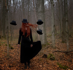 I wear many hats photo by Patty Maher