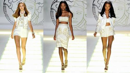 2012 Versace 春夏米蘭時裝週