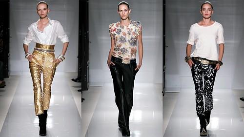 2012年巴黎春夏时装周 Balmain6