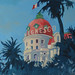 'Negresco' Oil on board, 122x61cm