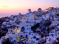 Greece : A view on Oia, Santorini photo by Frans.Sellies
