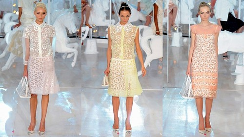 2012 Louis Vuitton 春夏巴黎時裝週1