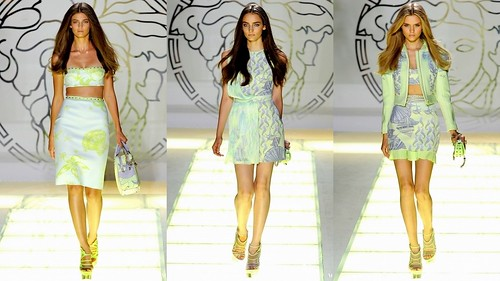 2012 Versace 春夏米蘭時裝週4