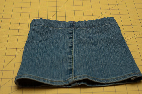 Child's Jean Skirt from Old Jeans Tutorial Sewing Novice | Sewing ...