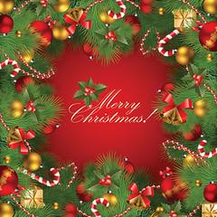 Christmas frame photo by Vecto2000.com