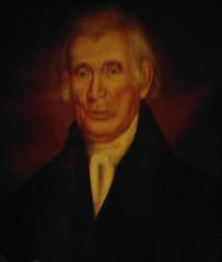 Portrait of Abijah Peck.