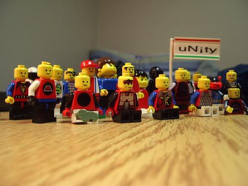 Lego unity