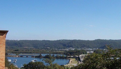Fagans Bay & The Broadwater from Mouat Lane Gosford