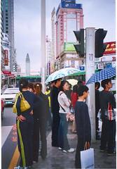 A street scene of Xiaoximen