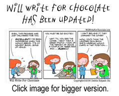 Will Write For Chocolate updated
