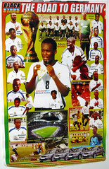 ghana road to germany 2006
