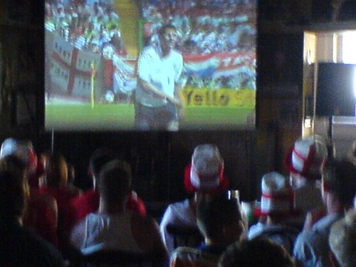 My local pub with big screen
