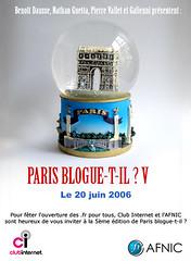 Paris Blogue-t-il? V