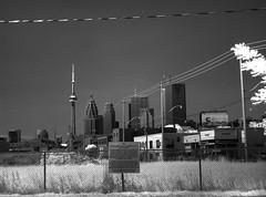 HDR IR Toronto skyline