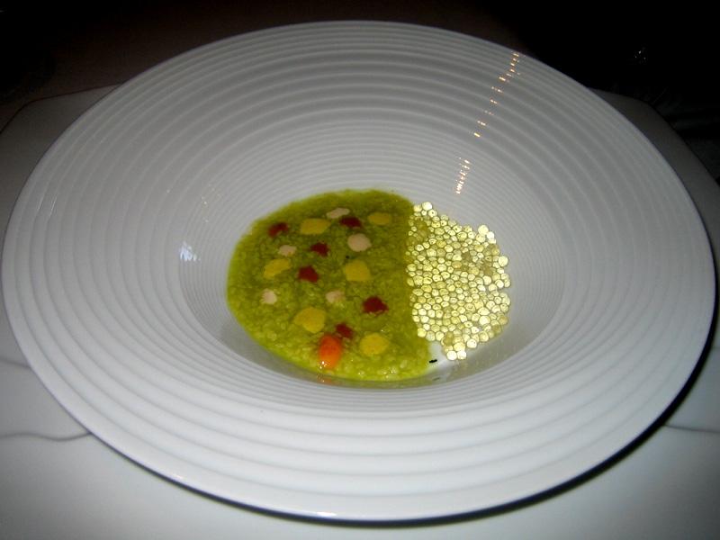 El Bulli - Zucchini Risotto