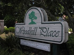 Entrance to Woodhill