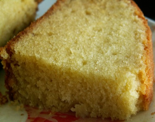 Golden Churn Butter Cake Recipe