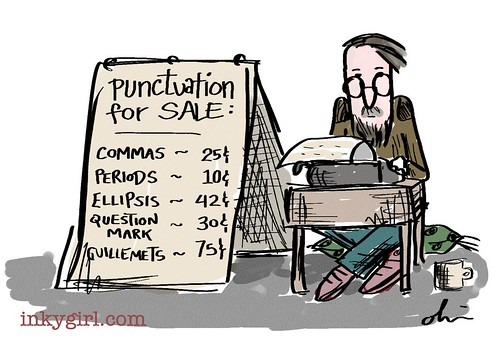 Punctuation for sale