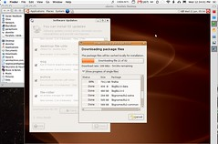 Installing Ubuntu Linux system updates on the MacBook