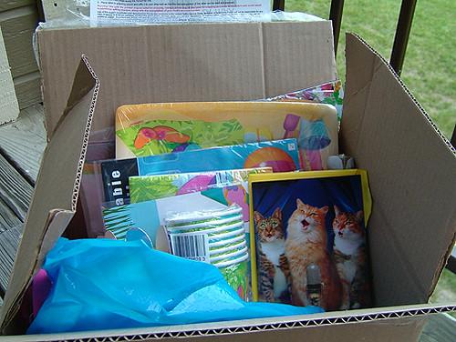 Oooooo a box a box a box
