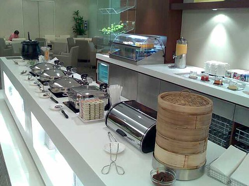 The Spread at the New SATS Premier Lounge at Changi T1