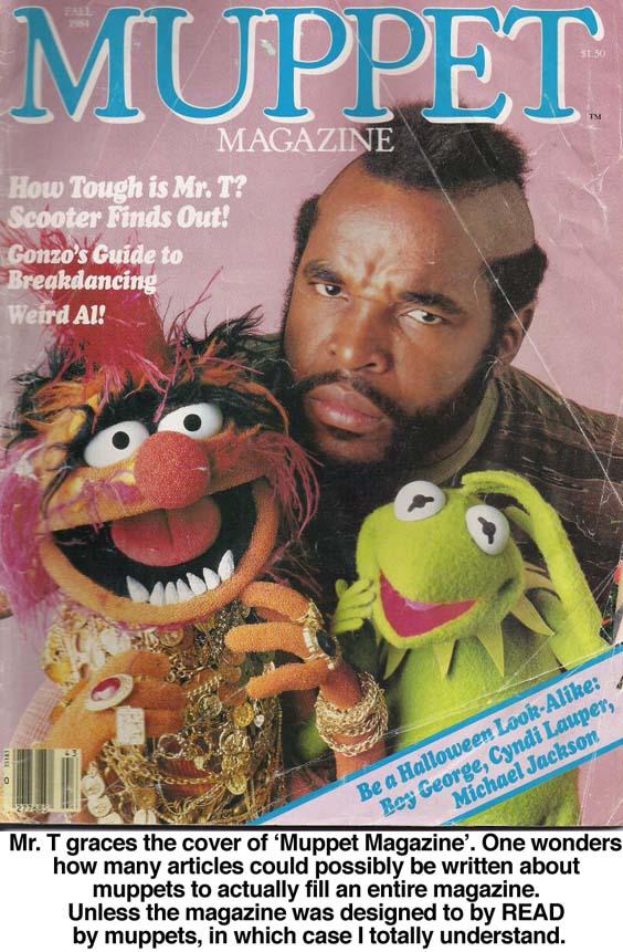 mr t muppets