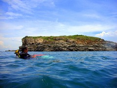 Diving at Koh Man Wichai Island