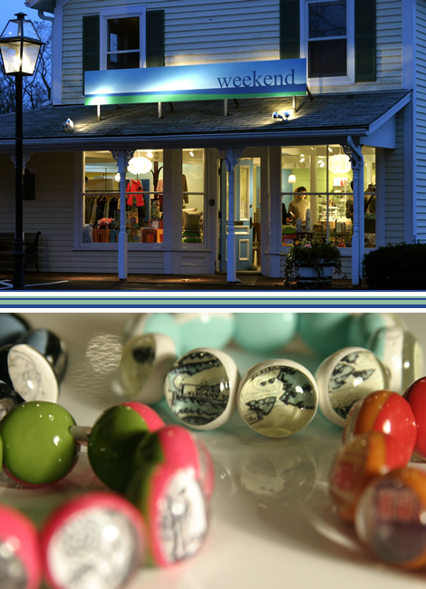 Shop Tour: Weekend on Cape Cod