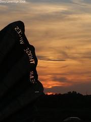 Scallop, Aldeburgh at Sunset