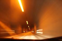 Driving to �safjörður in the Vestfirðir tunnel