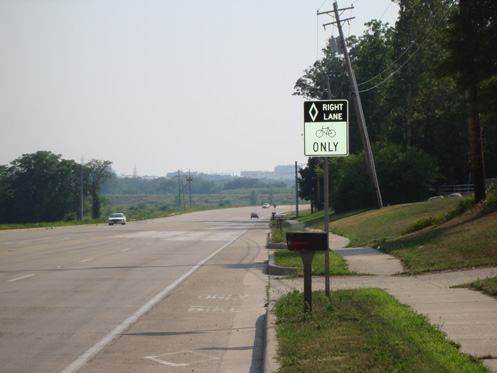 US 231 - South River Road Bike Lane