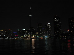 Toronto downtown from the Inner Harbour, four