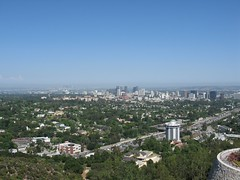 Part of LA seen from the Getty Center
