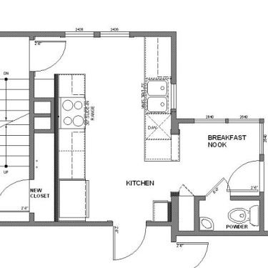 new kitchen plan
