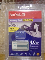 MemoryStick PRO Duo 4GB (SanDisk)